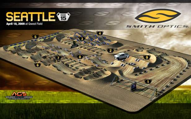 Seattle Supercross Track