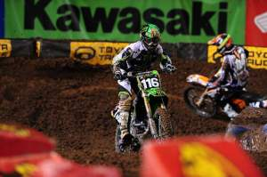 Morais and Brayton battle for position