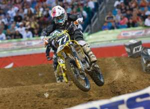 Steven Clarke finished the 2009 Eastern Regional SX Lites Series tied for 10th