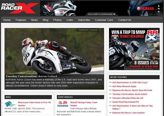 The all-new Road Racer X