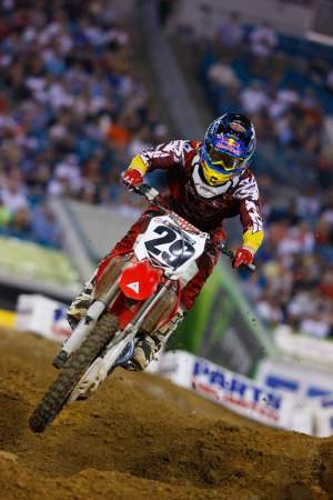 Andrew Short is firmly planted third in the standings