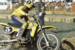 Harry Everts on his way to a 125cc World Championship in 1979