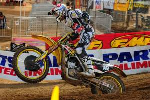 Ryan Dungey went 7-1 for third overall but maintains the points lead going into Texas.