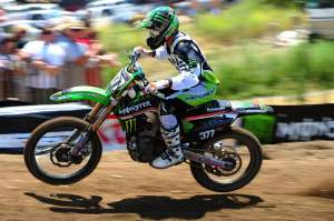 Christophe Pourcel went 1-3 (officially) for the overall at Hangtown.