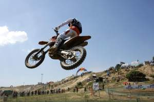 Anthony Boissiere won MX2 moto 2
