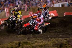 Ben mixes it up with Windham and Sipes at Daytona