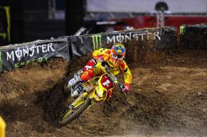 Could Dungey have caught up with more more lap?