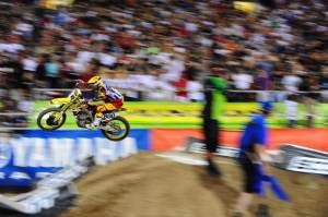 Alessi rocketed out of Monster Alley with a big lead last weekend