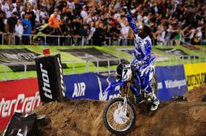 James Stewart is the 2009 Monster Energy AMA Supercross Champion