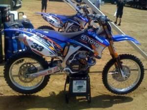 Josh Grant and Cody Cooper's Yamahas