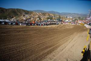 The Jody Weisel designed Glen Helen track is not for the meek. The riders I spoke to had mixed reviews about it. They need to lay off the water hoses was the main complaint.
