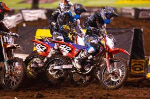 The Troy Lee Designs Honda team is now teamed up with Lucas Oil