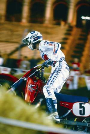 Johnny O'Mara was the last rider to win the AMA Supercross title for Answer