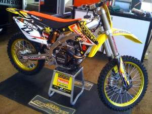 Will we see the red plate on Reed's Suzuki again soon?