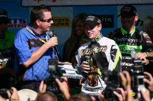 Villopoto and Mitcheff won three AMA Motocross Championships together