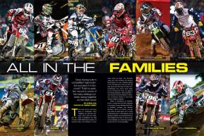 What's it like when your brother is racing in the pro ranks with you? Steve Cox checks in with the fastest siblings in the game to weigh the pros and cons. Page 158.