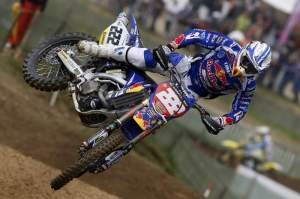 Points leader Antonio Cairoli recovered from his crash-filled weekend in England for third overall in France.
