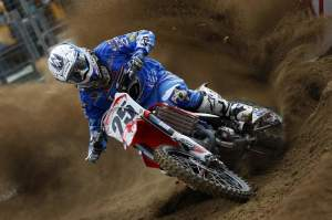 Frenchman Clement Desalle was fifth overall at Ernee.