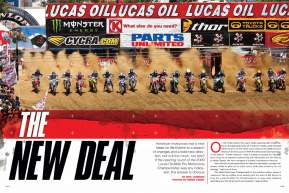 The 2009 Lucas Oil AMA Pro Motocross Championship got underway at San Bernardino, California's Glen Helen Raceway on May 23. Here's what went down. Page 144.