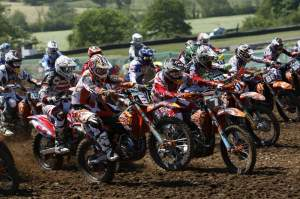 The MX2 class is a sea of orange