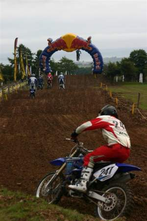 The Yorkshire track combines natural terrain with user-friendly man-made jumps and is a big hit with the riders.