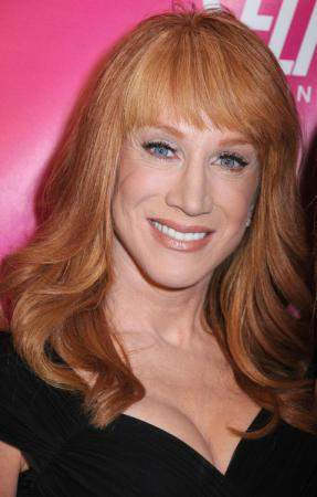 Signing at the Geico Honda truck from noon to five this weekend: Kathy Griffin!