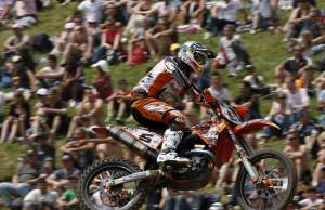 Max Nagl took the MX1 overall victory.