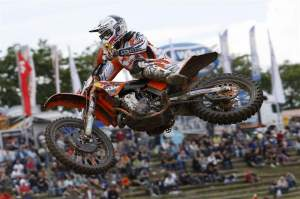 Max Nagl was second overall.