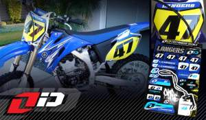Langers' YZ250F with the One iD kit