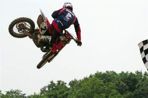 Jeff Stanton at the RedBud two-stroke race.
