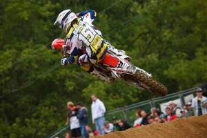 Justin Barcia won a B class at Loretta Lynn's last summer.