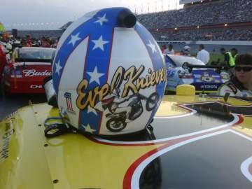 Clint Bowyer's Daytona Helmet