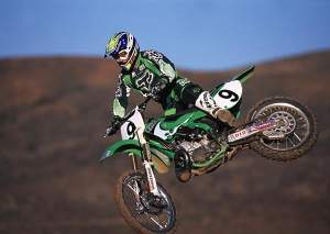 Believe it or not, there was a time when Ricky Carmichael did not hold the points lead