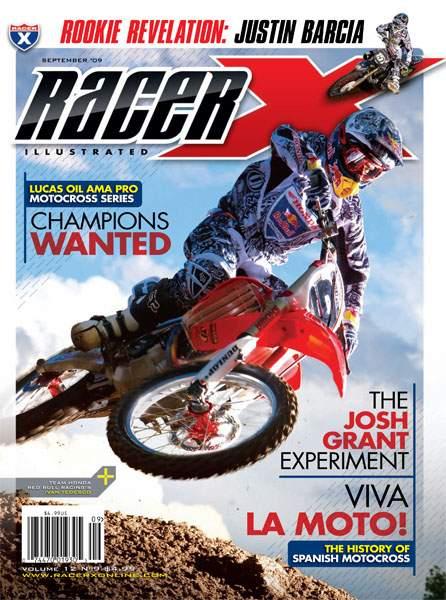 The September 2009 Issue - Racer X Illustrated Motocross Magazine