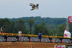 Ricky Carmichael absolutely dominated the FMF 2-Stroke Invitational.
