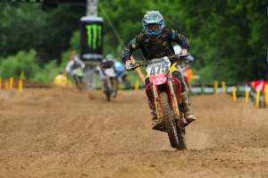 Regal went from thirteenth to sixth in the second moto.