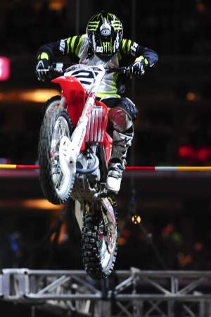 Jeremy McGrath was competitive yet again in Step Up.