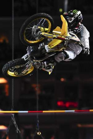 Ricky Carmichael cleared the same height as Renner and got the other gold.