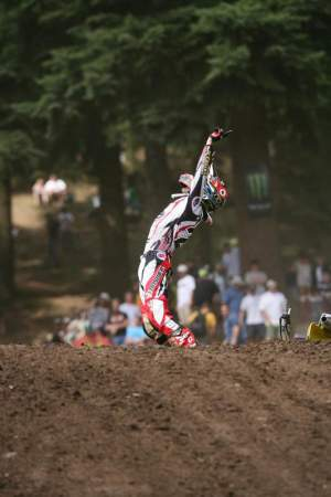 Ryan Dungey was pumped after beating Villopoto on his home turf last year