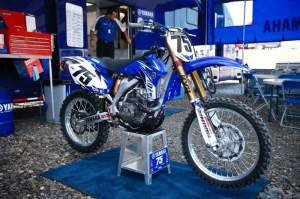 Unfortunately Hill's YZ450F has spent a lot of time alone these first six rounds