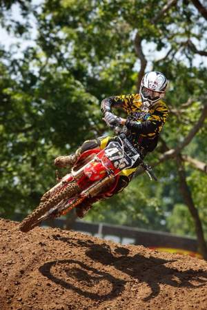 Regal flew under the radar and made his pro debut at Freestone back in June in the 250 class.