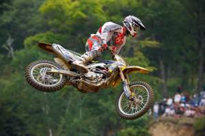 Browne finished 12th overall at Millville.