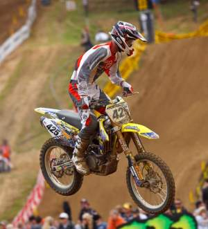 Jarred Browne is getting support from Suzuki City for the rest of the Lucas Oil AMA Pro Motocross Championship.