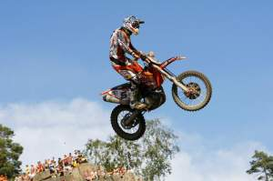 Nagl floats his KTM