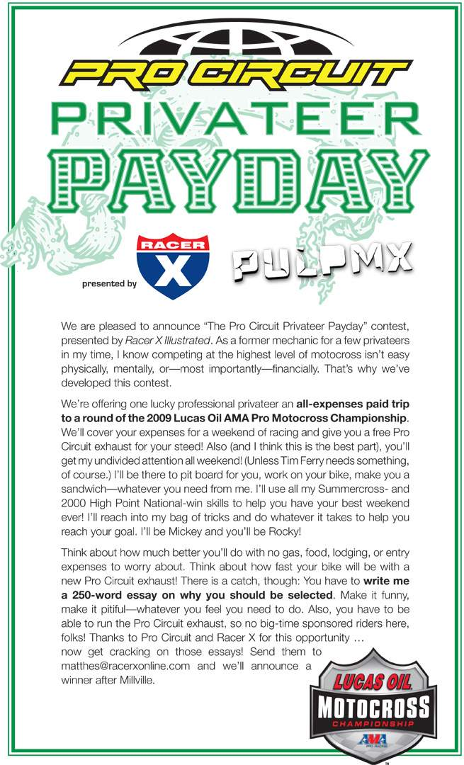 Privateer Payday