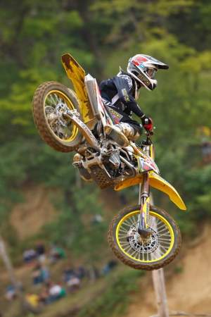 Chad Reed has been very happy with his bike and team