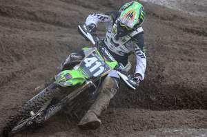 Tyla Rattray won moto two and finished second overall.