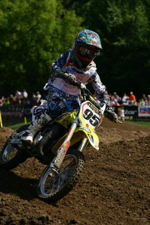 Jesse Masterpool has been another impressive 85cc rider