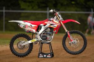 Willy Browning's missing Honda CRF250