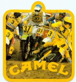 Imagine a cigarette company sponsoring motocross today.